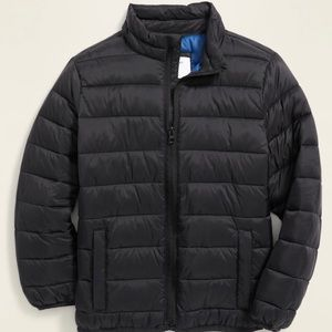 🏷 Boy's Water-Resistant Quilted Jacket Size 10-12